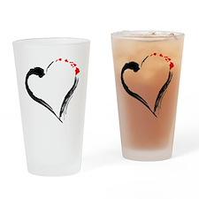 I Love Hawaii Drinking Glass