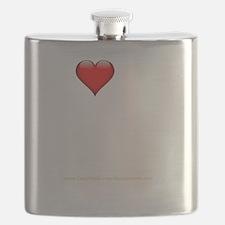 I Love My Swingers Group darkapparel Flask