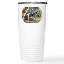 Green Heron Stalking Fr Travel Mug