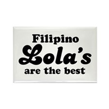 Filipino Lola's are the Best Rectangle Magnet