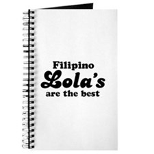 Filipino Lola's are the Best Journal