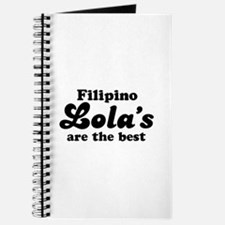 Filipino Lola's are the Best Journal