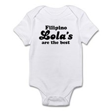 Filipino Lola's are the Best Infant Bodysuit
