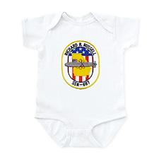 USS RICHARD B. RUSSELL Infant Bodysuit