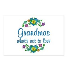 Grandmas to Love Postcards (Package of 8)