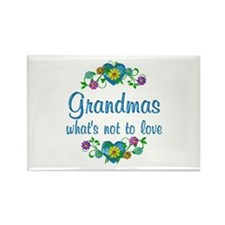 Grandmas to Love Rectangle Magnet