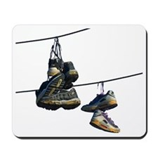 Shoes on Telephone Wires Mousepad