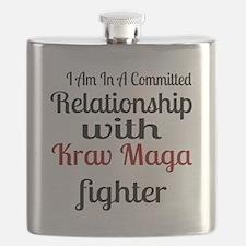 Relationship With Krav Maga Fighter Flask