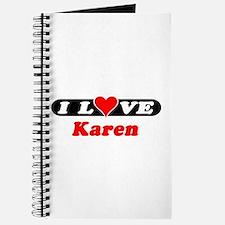 I Love Karen Journal