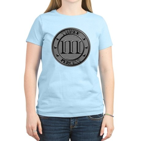 Three Percent Silver Women's Light T-Shirt