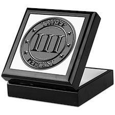 Three Percent Silver Keepsake Box