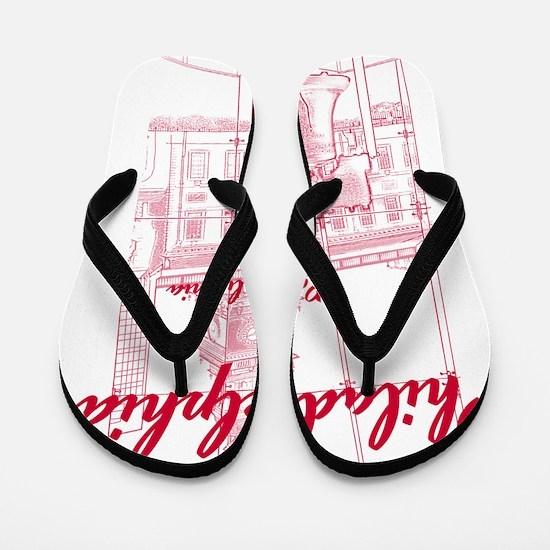 Philadephia_10x10_LibertyBell_Independe Flip Flops