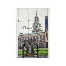 Philadephia_LibertyBell_Independe Rectangle Magnet