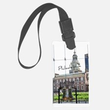 Philadephia_LibertyBell_Independ Luggage Tag