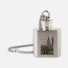 Philadephia_LibertyBell_Independenc Flask Necklace