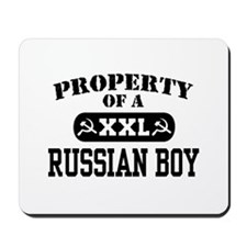 Property of a Russian Boy Mousepad
