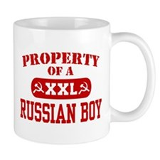Property of a Russian Boy Mug