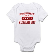Property of a Russian Boy Infant Bodysuit