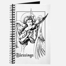 Angel with Dove Blessings Journal