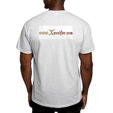 Red Fire Cross T-Shirt