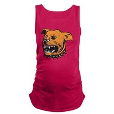 Angry Mongrel Dog Maternity Tank Top