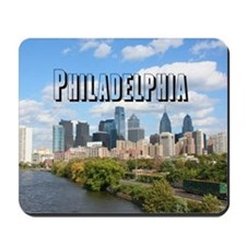 Philadephia_Rect_Skyline Mousepad