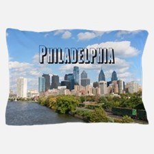 Philadephia_Rect_Skyline Pillow Case