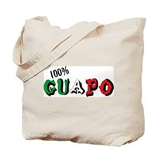 100% Guapo Tote Bag