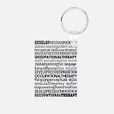 OT month Bw Keychains
