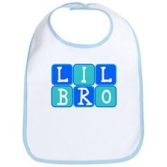 Lil Bro (Blue/Green) Bib