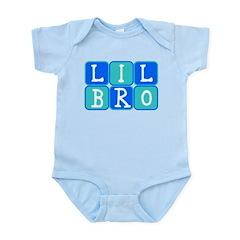 Lil Bro (Blue/Green) Infant Bodysuit