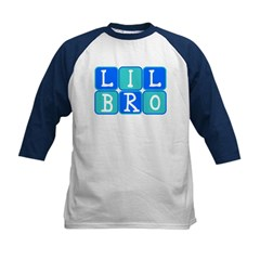 Lil Bro (Blue/Green) Kids Baseball Jersey