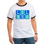 Lil Bro (Blue/Green) Ringer T