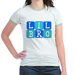 Lil Bro (Blue/Green) Jr. Ringer T-Shirt