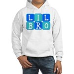 Lil Bro (Blue/Green) Hooded Sweatshirt