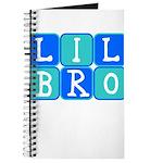 Lil Bro (Blue/Green) Journal