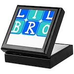 Lil Bro (Blue/Green) Keepsake Box
