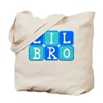 Lil Bro (Blue/Green) Tote Bag