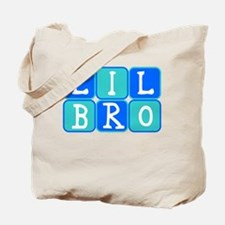 Lil Bro (Blue/Green) Tote Bag