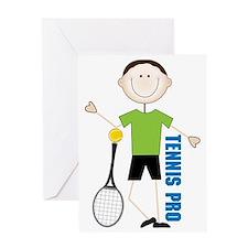 Tennis Pro Greeting Card