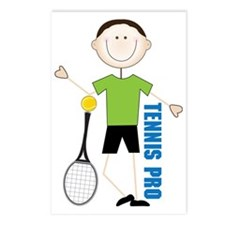 Tennis Pro Postcards (Package of 8)