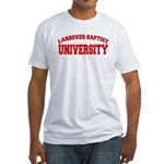 Landover Baptist University Fitted T-Shirt