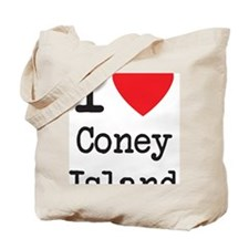 I Love Coney Island Tote Bag