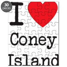 I Love Coney Island Puzzle