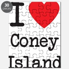 I Love Coney Island Puzzle