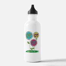 OT FLOWERS FINISHED 1 Water Bottle