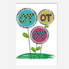 OT FLOWERS FINISHED 1 Postcards (Package of 8)