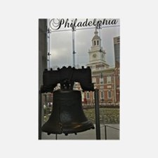 Philly_5.5x8.5_Journal_LibertyBel Rectangle Magnet