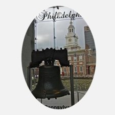 Philly_5.5x8.5_Journal_LibertyBell Oval Ornament
