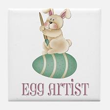 Egg Artist Tile Coaster